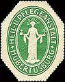 Siegelmarke Heil- und Pflegeanstalt - Hubertusburg W0213476.jpg