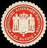 Siegelmarke Königliche Eisenbahn - Direction zu Danzig W0229490.jpg