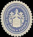 Siegelmarke Siegel des Stadtgemeindevorstands Schleiz W0349253.jpg