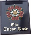 Sign for the Tudor Rose - geograph.org.uk - 1141305.jpg