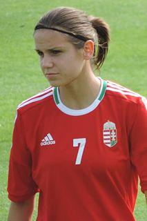 Lilla Sipos Hungarian football player
