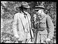 Sir Thomas MacKenzie talks with the New Zealand War Correspondent in France, World War I (21041339093).jpg