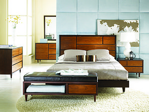 Picture of a Sitcom Furniture bedroom set that...
