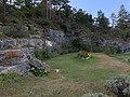 Site de Ferlioz et statue de Jean-Marc du Bugey à Artemare.jpg