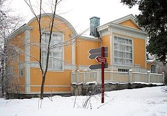 The Visitors (ABBA album) - The studio of Julius Kronberg at Skansen in Stockholm.