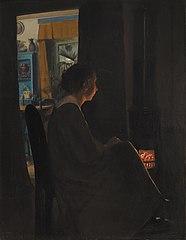 Twilight. The Artist's Wife