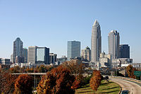 Skyline of Charlotte, North Carolina (fall 2007).jpg