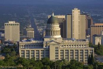 Utah State Capital Building.