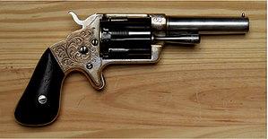 Slocum revolver - Slocum revolver right side