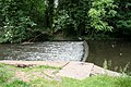 Small weir on River Gade, Watford - geograph.org.uk - 464777.jpg