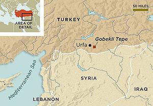 Turkio:Situo de Göbekli Tepe
