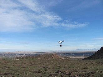 Aerial seeding - Plane Aerial Seeding