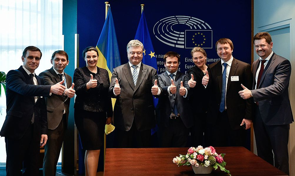 Solemn ceremony of signing the document on visa liberalisation with the EU for Ukrainians 07.jpg