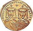 Solidus of Leo IV the Khazar & Constantine VI.jpg