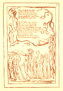 Songs of Innocence and Experience, page 7 (Ellis facsimile).png