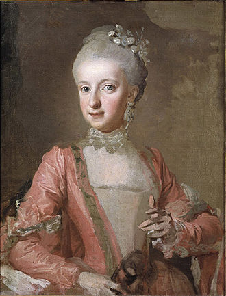 Sophia Albertina, Abbess of Quedlinburg - Sophia Albertina, painted by Lorens Pasch the Younger