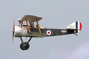 Operations on the Ancre, January–March 1917 - Image: Sopwith Pup RIAT 2008 (2831140422)