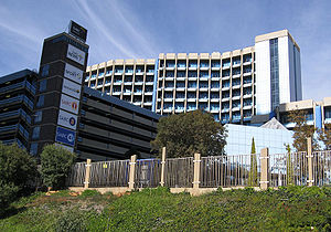 South African Broadcasting Corporation - SABC headquarters in Uitsaaisentrum, Johannesburg