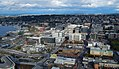 South Lake Union area from Space Needle on October 1 2017.jpg