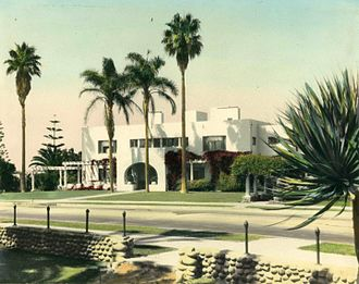 Ellen Browning Scripps - Ellen Browning Scripps's house South Molton Villa II designed by architect Irving J. Gill.