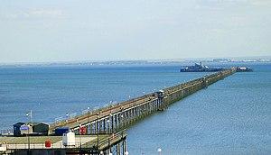 Southend Pier - Southend pier in 2007