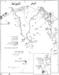 Soviet SAM Sites in Egypt as of May 1970 Top Secret CIA Estimate-ar.png