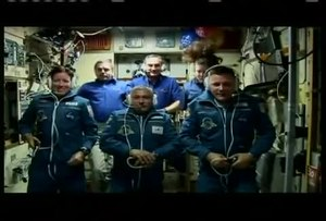 File:Soyuz TMA-19 crew arrives at the International Space Station.ogv