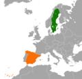 Spain Sweden Locator.png