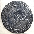 Spanish coin found at Padre Island National Seashore.jpg