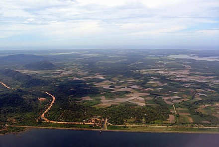 An aerial view of Southern Province. Sri lanka southern province aerial view.jpg