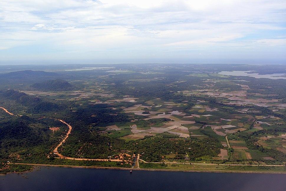 Sri lanka southern province aerial view