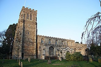 Eaton Socon - Image: St.Mary's church geograph.org.uk 1139471