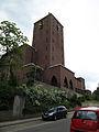 St. Ingbert Hildegardskirche Turm von Südosten.JPG