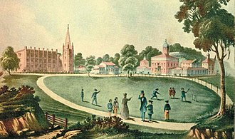 Fordham University - St. John's College, 1846