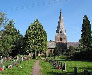Fownhope village in United Kingdom