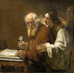 Karel van der Pluym: St. Matthew and the Angel