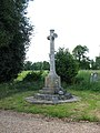 St Andrew's church - war memorial - geograph.org.uk - 1338108.jpg