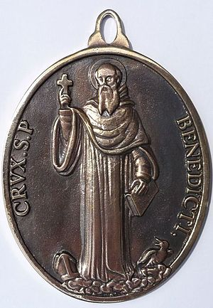 Saint Benedict Medal - Traditional, original design of the medal