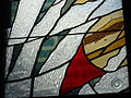 St James Church, Sydney - detail of glass in the Chapel of the Holy Spirit.jpg