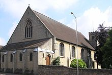 St. Mark's Church, Mansfield, listed at Grade II* St Marks Mansfield June 2009 02.JPG