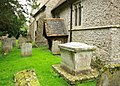 St Mary, Sellindge, Kent - North porch (geograph 2069667).jpg