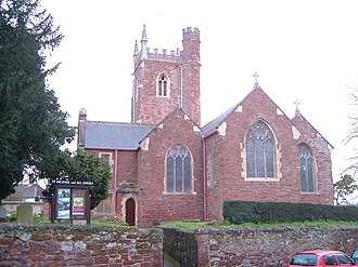Alphington, Devon - Church of St Michael and All Angels, Alphington, viewed from the east