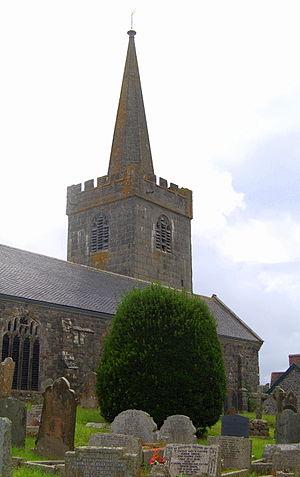 St Keverne - St Keverne parish church
