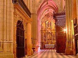 Santa María. Interior.