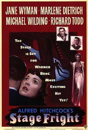 Stage Fright (1950 film) - Theatrical release poster
