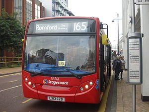 Stagecoach 36561 on Route 165, Romford.jpg