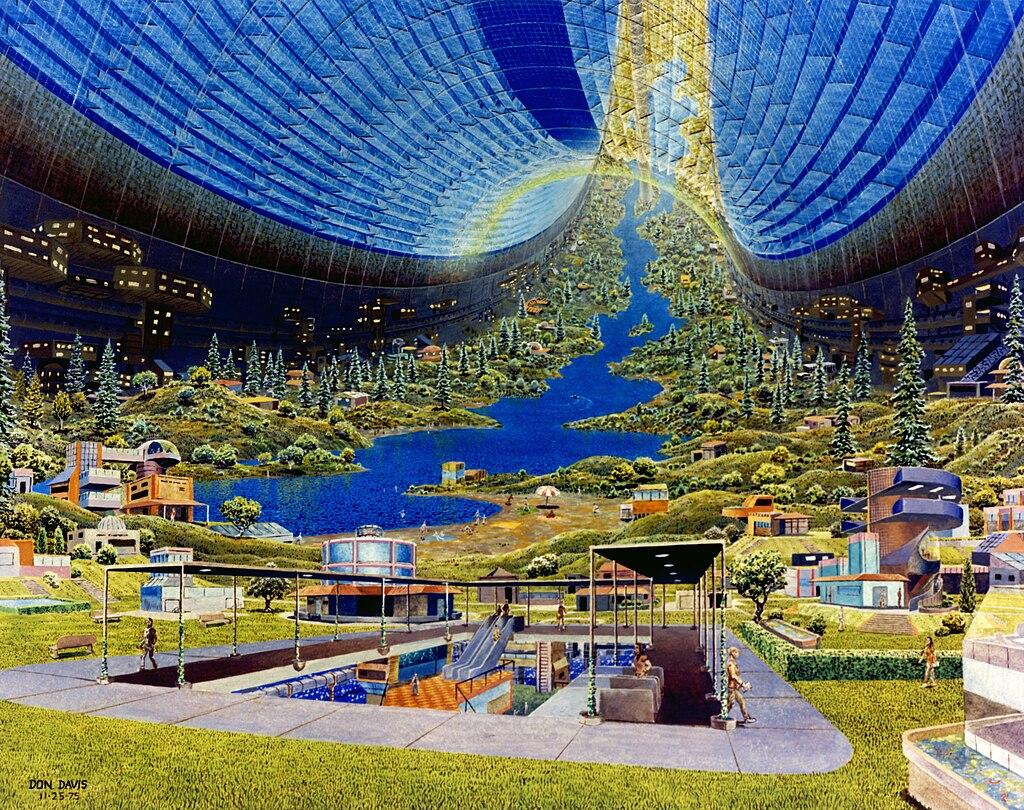 Giant Spaceship Interior