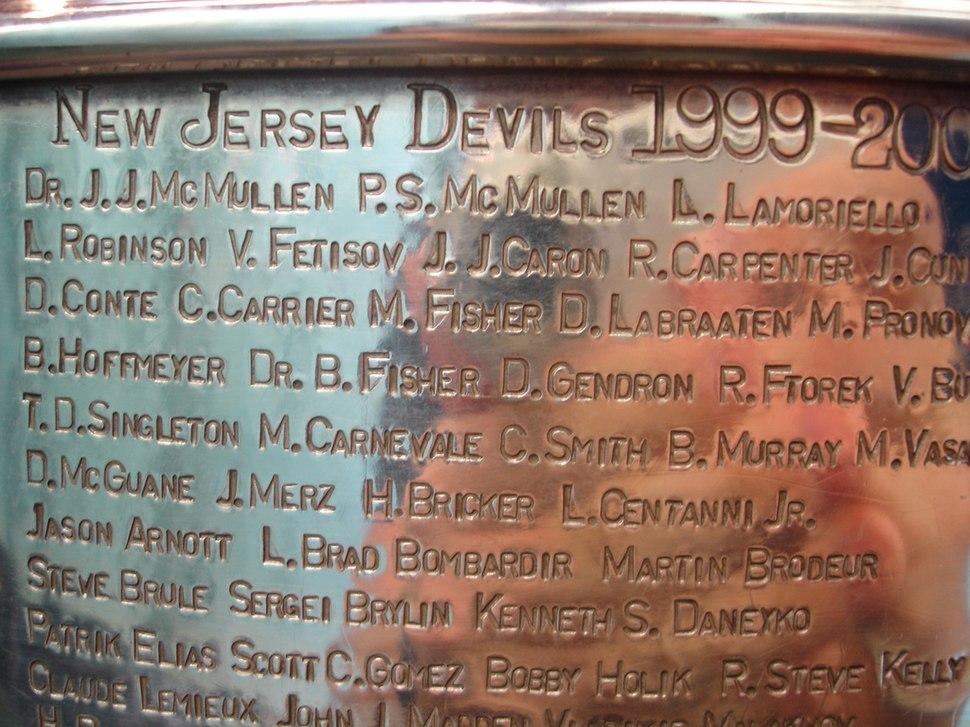 StanleyCupDevs1999-00Engraved