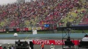 Watkins Glen International - The Start/Finish line at Watkins Glen International