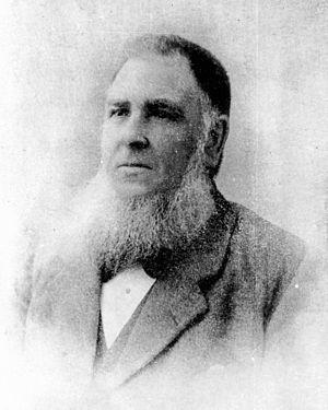 John McMaster (mayor) - John McMaster ca. 1895.